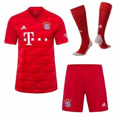 Adidas FC Bayern Munich Official Home Soccer Jersey Adult Full Uniform Kit 19/20
