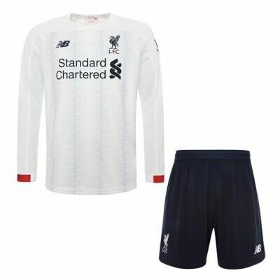 New Balance Official Liverpool Away Soccer Jersey Adult Uniform Kit 19/20