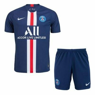 Nike PSG Official Home Soccer Jersey Adult Uniform Kit 19/20