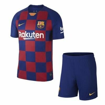Nike Barcelona Official  Home Soccer Jersey Adult Uniform Kit 19/20