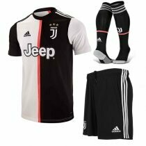 Adidas Juventus  Official Home Soccer Jersey Adult Uniform Full Kit 19/20
