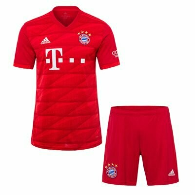 Adidas FC Bayern Munich Official Home Soccer Jersey Adult Uniform Kit 19/20