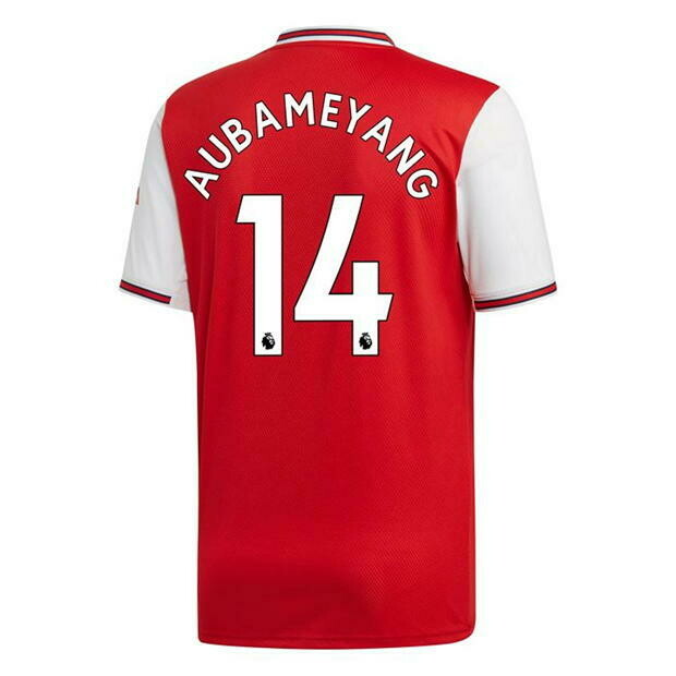 Adidas Arsenal  Pierre-Emerick-Aubameyang Home Jersey Shirt 19/20