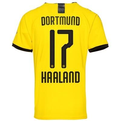 Puma Borussia Dortmund Haaland Home Jersey Shirt 19/20