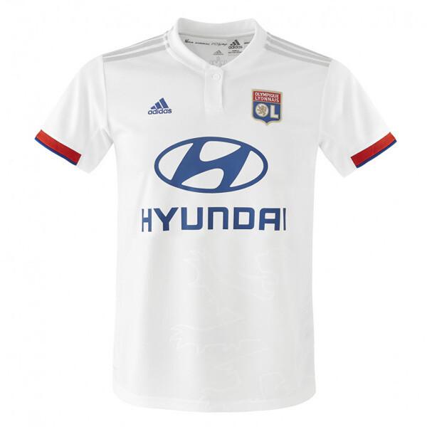 Adidas Olympique Lyon Home Soccer Jersey  19/20