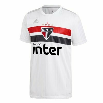 Adidas Sao Paulo FC Official Home Soccer Jersey 20/21 (Authentic)
