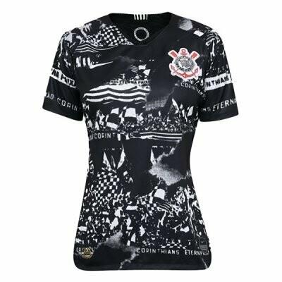 Nike Corinthians Third Women's Away Jersey Shirt 19/20