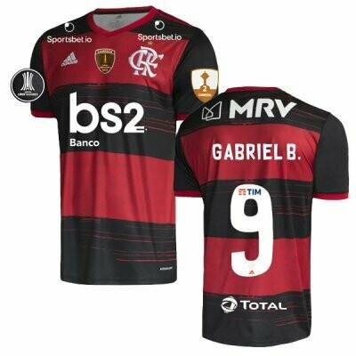 Official Adidas Gabigol Flamengo Copa Libertadores Final  Jersey Shirt 20/21