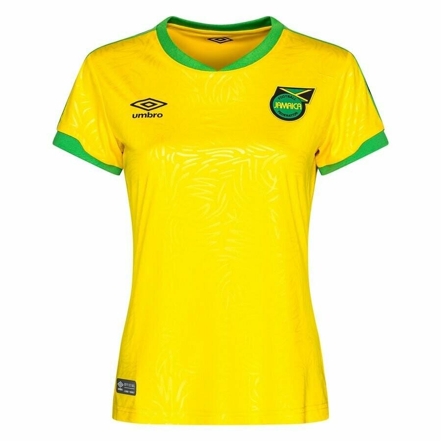 Official Jamaica Women's  Home Jersey Shirt 2019