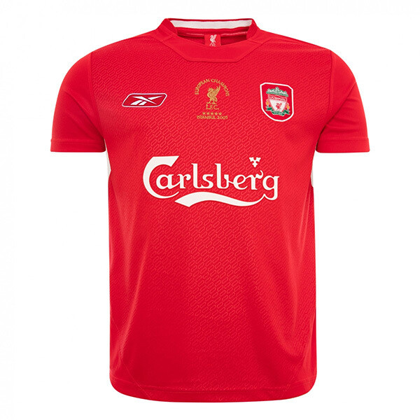 Liverpool FC Istanbul UCL Final Home 2004-05