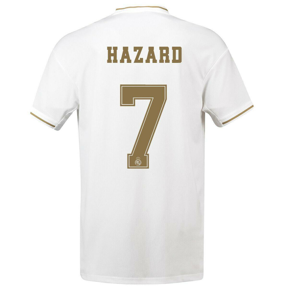 Adidas Real Madrid Hazard Jersey 19/20