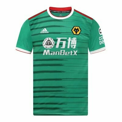 Adidas Wolverhampton Wolves Wanderers Third Jersey Shirt 19/20