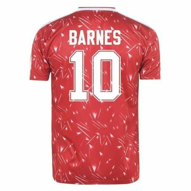 Liverpool John Barnes Home Retro Jersey 1989-91