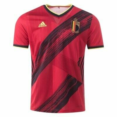 Adidas Belgium Official Home Jersey Shirt 2020