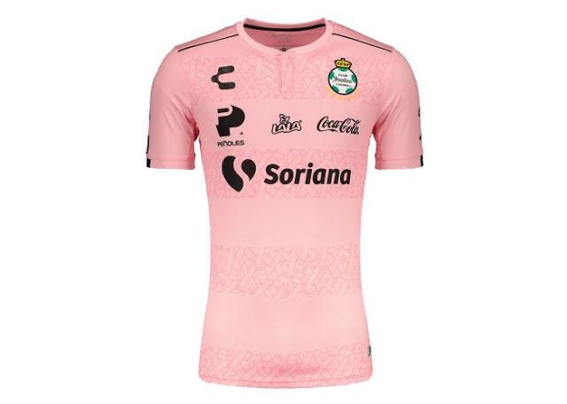 Santos Laguna Official Pink Jersey  19/20