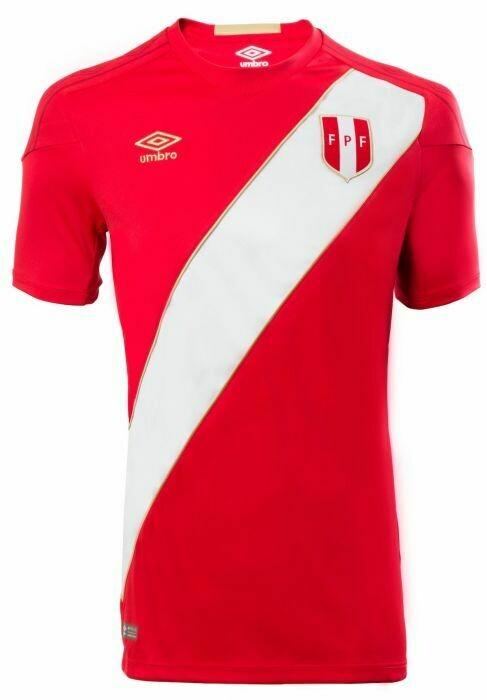 Umbro Official Peru Away Jersey 2018