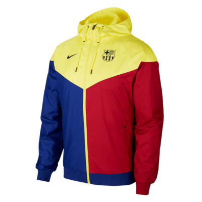 Barcelona Windbreaker Jacket (Authentic)