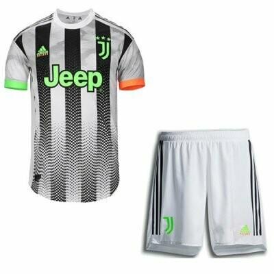 19-20 Juventus Palace Fourth Soccer Jersey Kit (Shirt+Short)