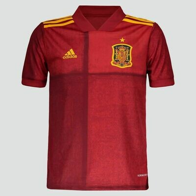 Adidas Spain Official Home Jersey  2020