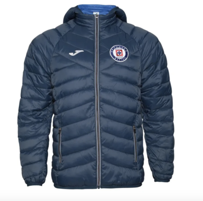 Official Cruz Azul Winter Jacket (Authentic)