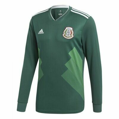 Adidas Mexico Official Long Sleeve Jersey 2018