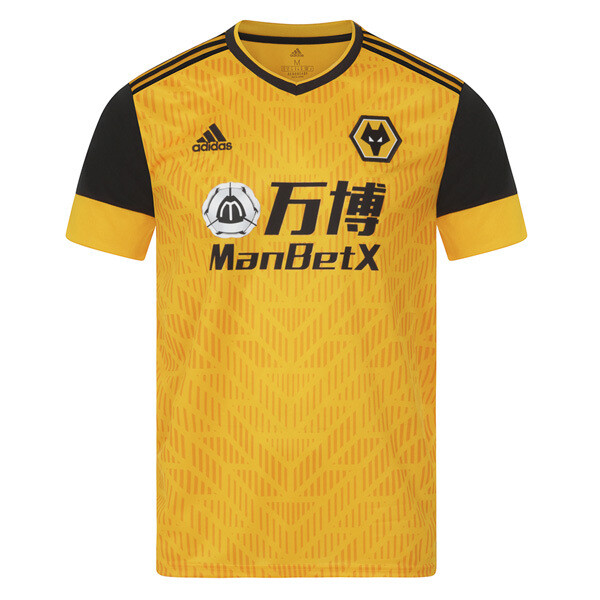 Adidas Wolverhampton Wolves Wanderers Home Jersey Shirt 20/21