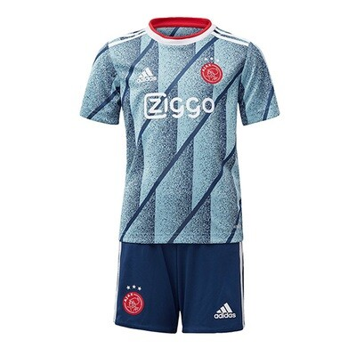 Adidas AJax Official Away Soccer Jersey Kids Kit 20/21