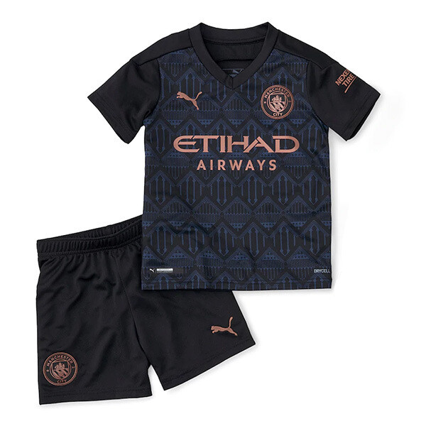 Manchester City Away Soccer Jersey Kids Kit 20/21