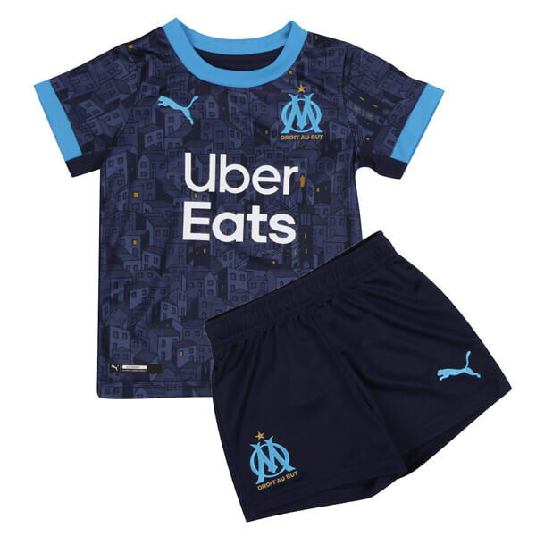 Olympique de Marseille Away Jersey Kids Kit 20/21