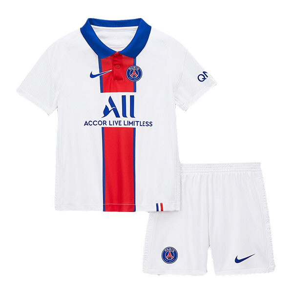 Paris Saint-Germain PSG Away Jersey Kids Kit 20/21