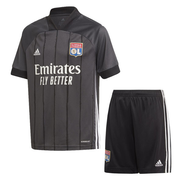 Olympique Lyon Away Jersey Kids Kit 20/21