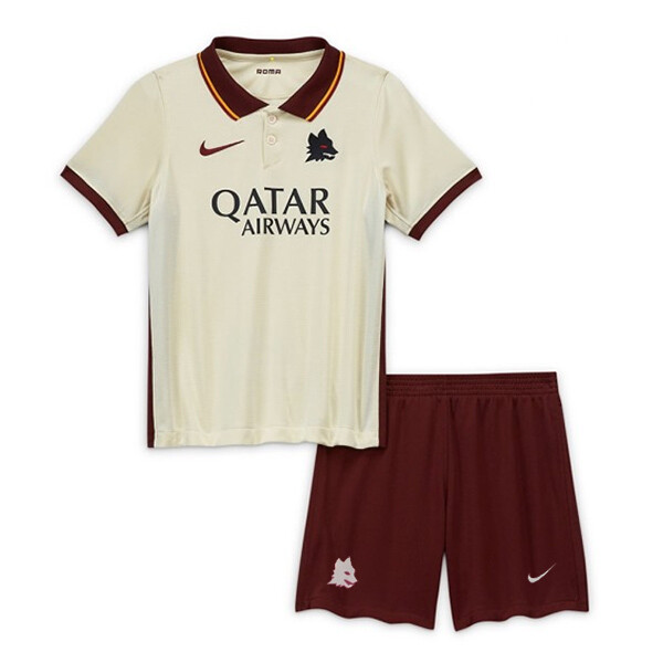 AS Roma Away Soccer Jersey Kids Kit 20/21