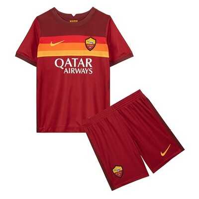 AS Roma Home Soccer Jersey Kids Kit 20/21