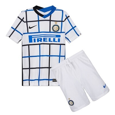 Nike Inter Milan Away Soccer Jersey Kids Kit 20/21