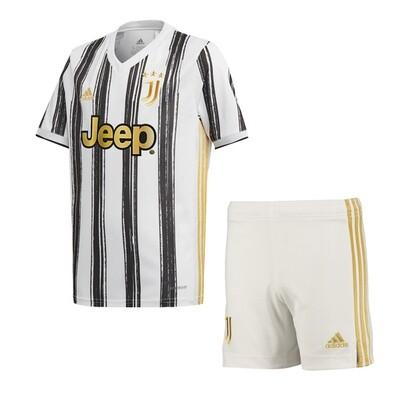 Adidas Juventus Home Soccer Jersey Kids Kit 20/21