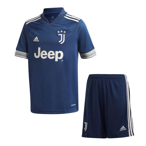 Adidas Juventus Away Soccer Jersey Kids Kit 20/21