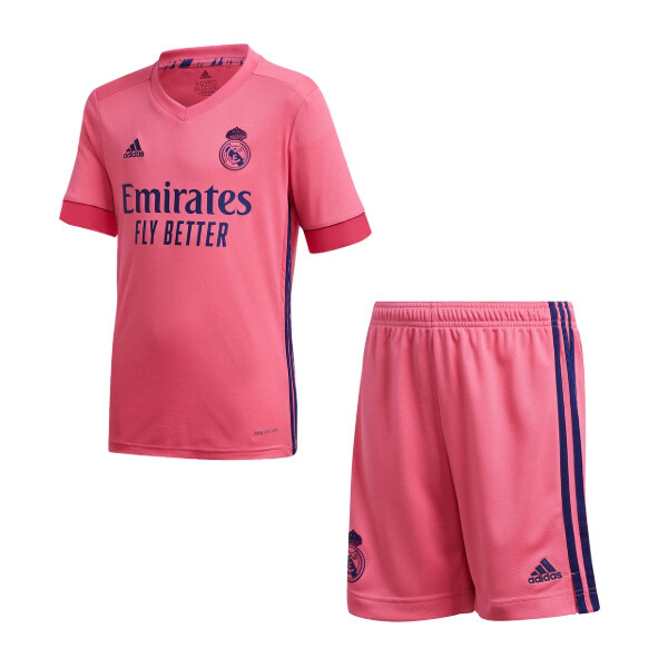 Adidas Real Madrid Away Soccer Jersey Kids Kit 20/21