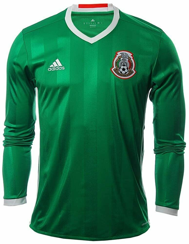Adidas Mexico Official Long Sleeve Jersey 2016