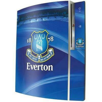 Everton FC PS3 Console Skin