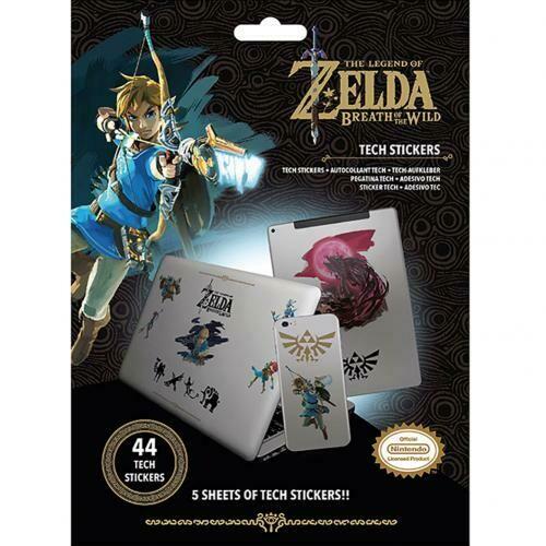 The Legend Of Zelda Tech Stickers