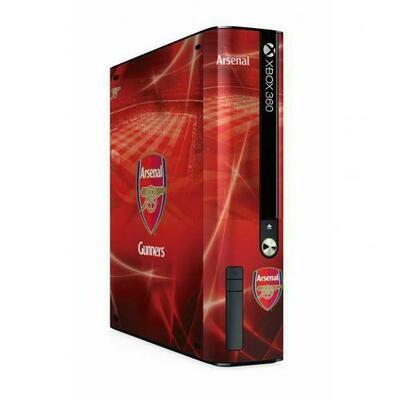 Arsenal FC Xbox 360 E GO Console Skin