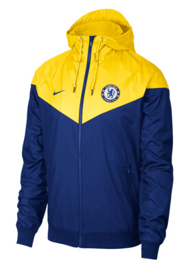 Chelsea FC Windbreaker Jacket Blue/Yellow (Authentic)