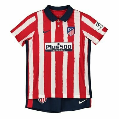 Atlético de Madrid Home Jersey Kids Kit 20/21