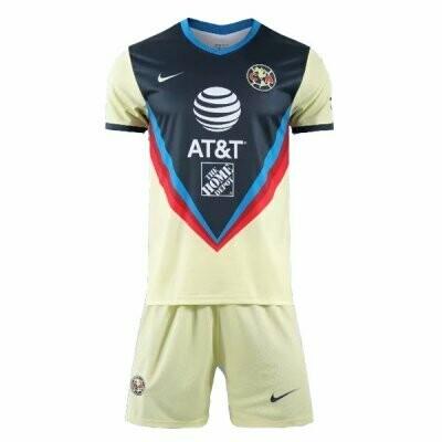 Club America Home Soccer Jersey Men Kit 20/21