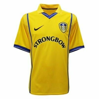 Leeds United Away Yellow Retro Jersey 2000-2001