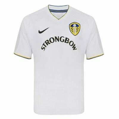 Leeds United Home Yellow Retro Jersey 2000-2001