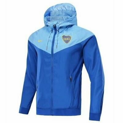Nike Boca Juniors Blue Vest Windrunner