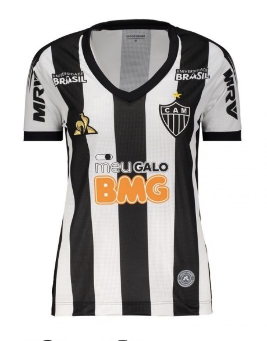 Atletico Mineiro Women's Official Home Jersey 19/20