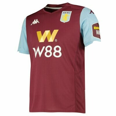 Kappa Aston Villa United Official Home Jersey  19/20 (Authentic)