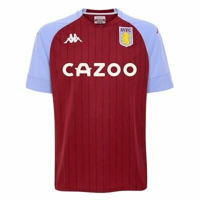 Aston Villa Home Soccer Jersey Shirt 20/21